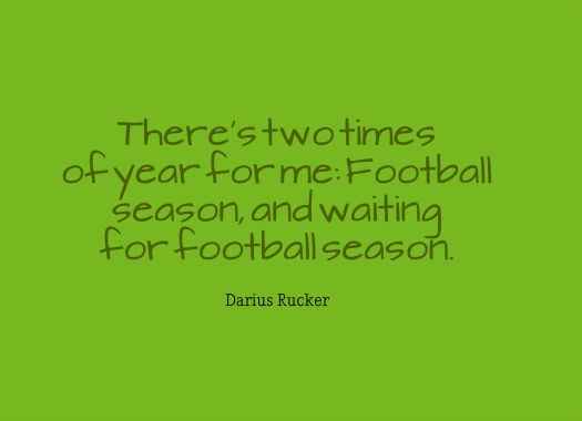football season quote
