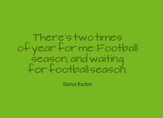 football season quote