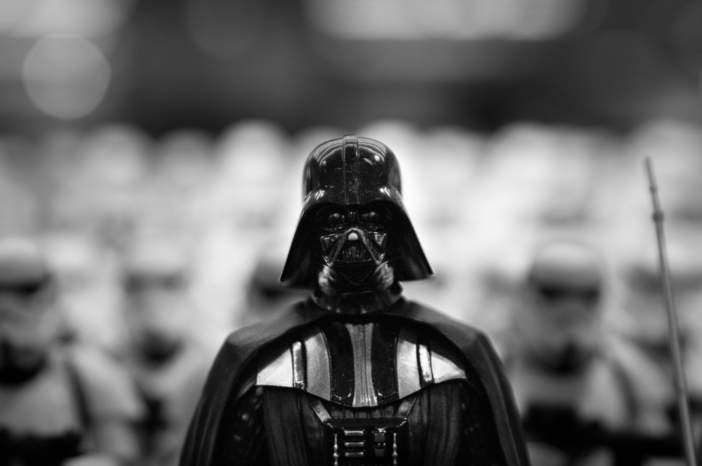 darth vader stormtroopers