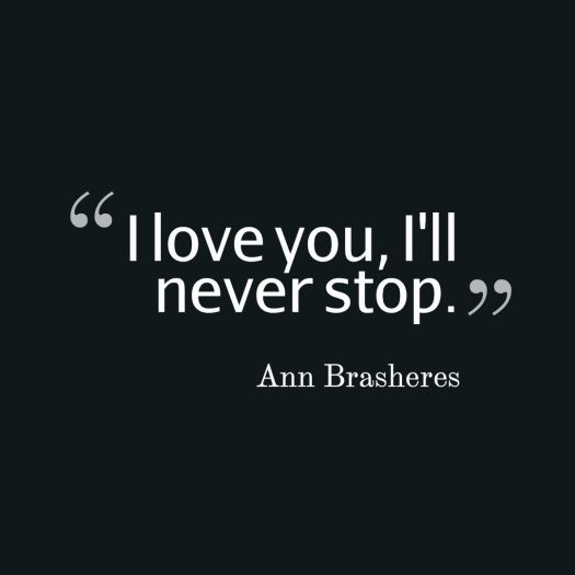 love quote brasheres