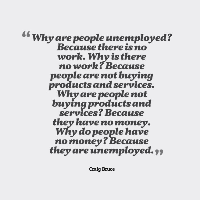 unemployed quote