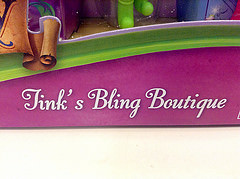 photo credit: Disney Fairies Tink's Pirate Fairy Bling Boutique at Target 4/14/14 via photopin (license)