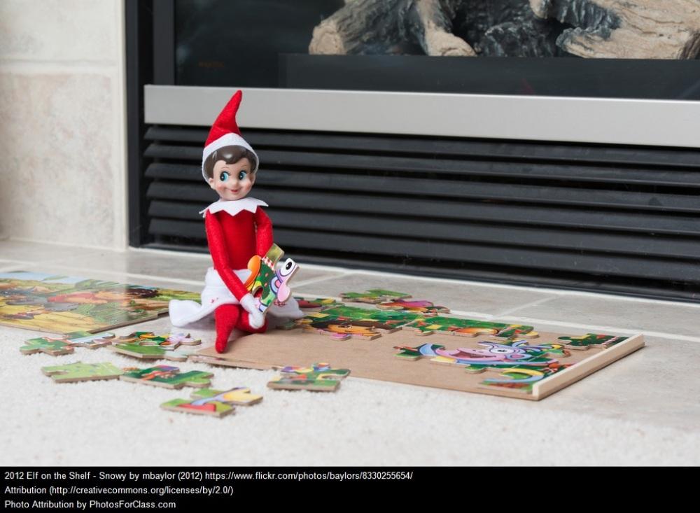elf on the shelf puzzle