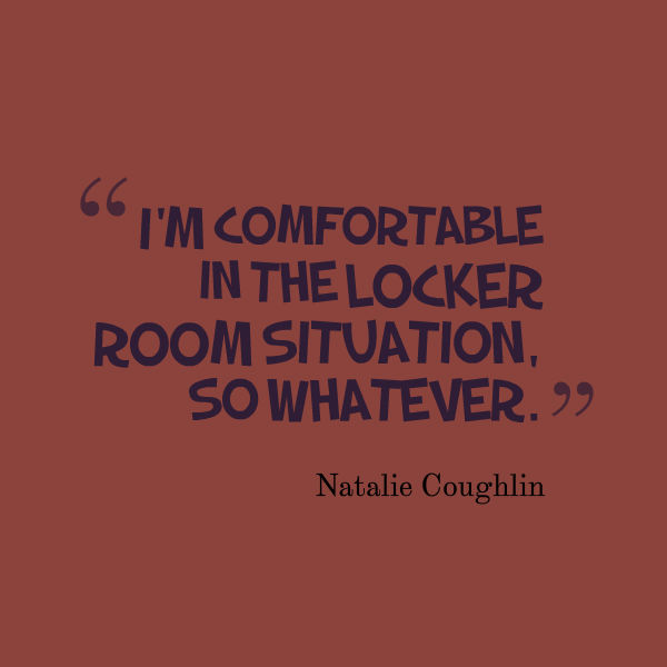 locker room quote