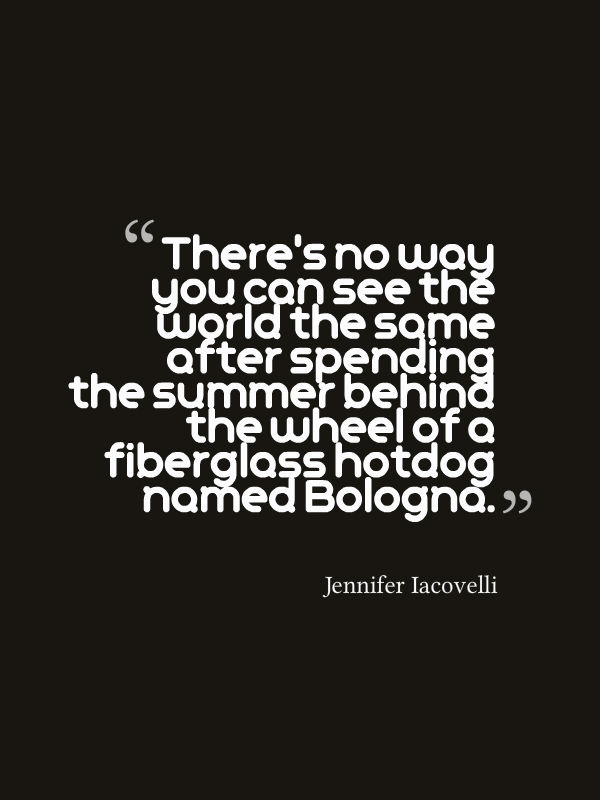 hot dog quote