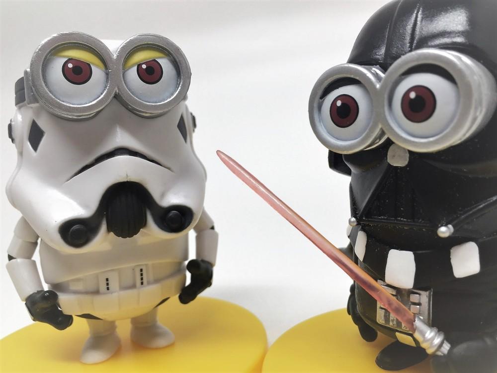 stormtrooper darth vader minion