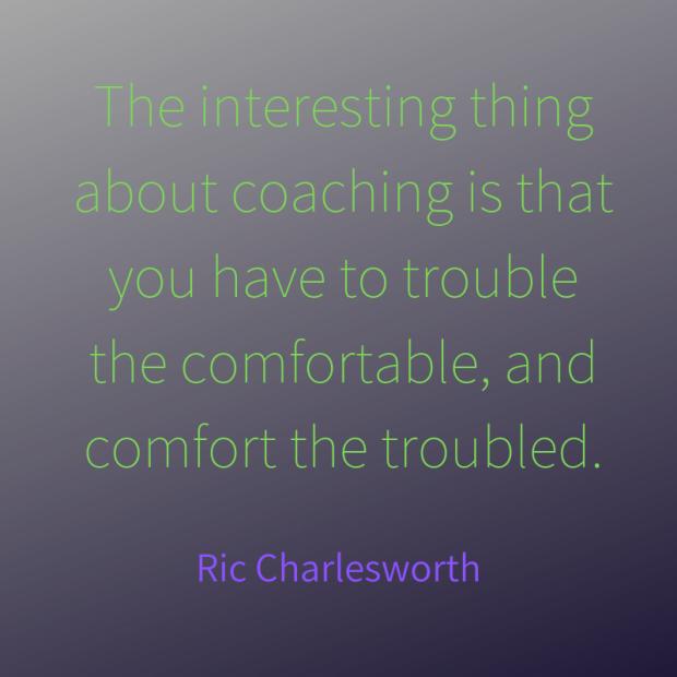 Charlesworth quote coaching