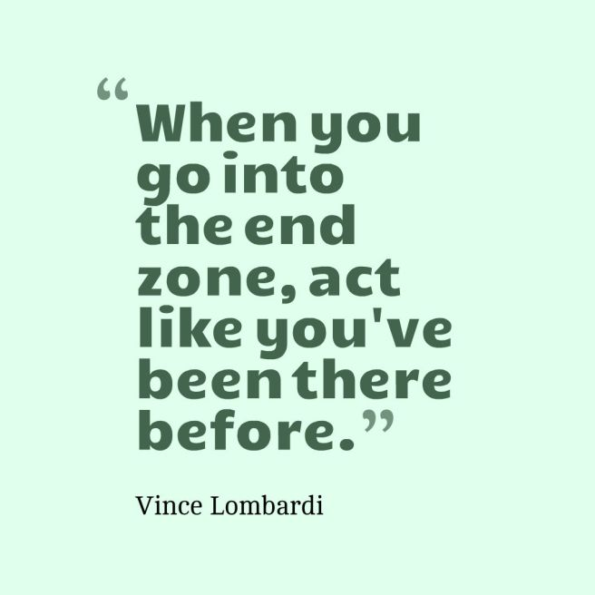 end zone quote