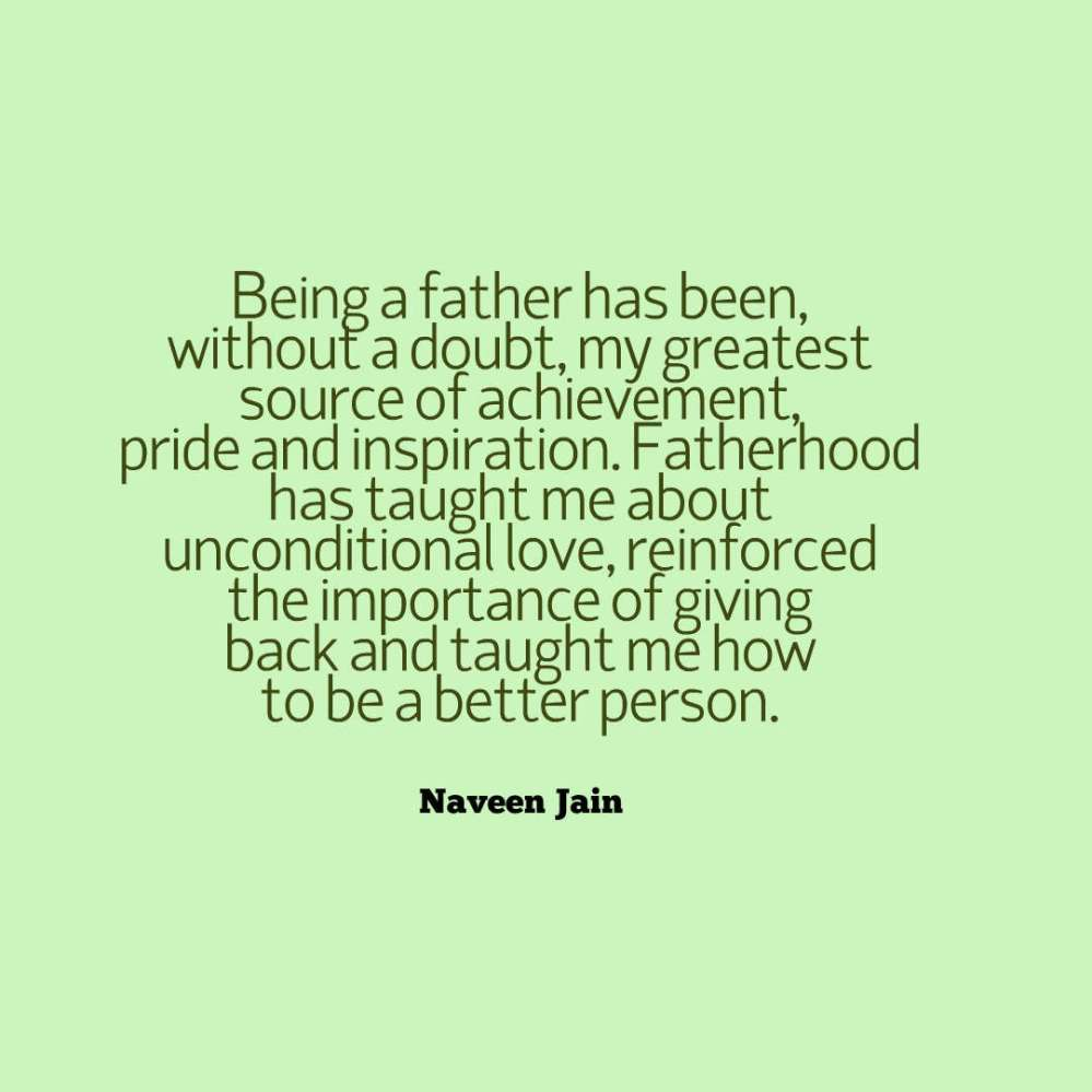 jain quote fatherhood