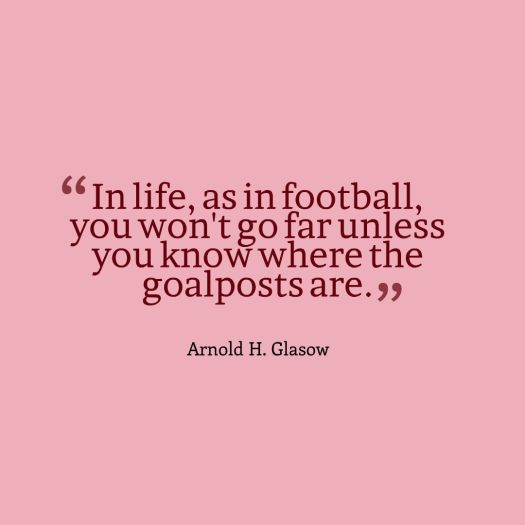 goalpost quote