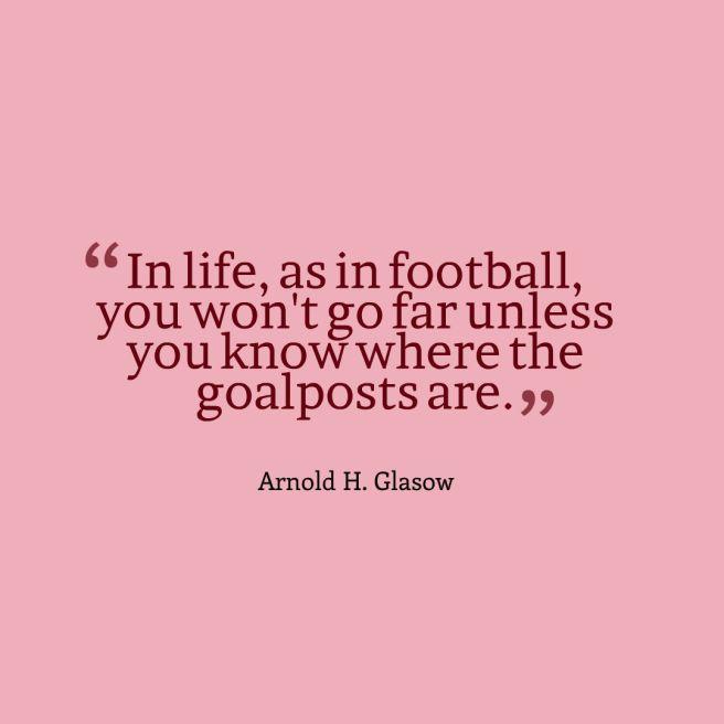 goalpost quote