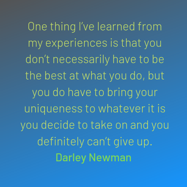 newman quote experiences