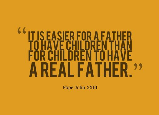 real father