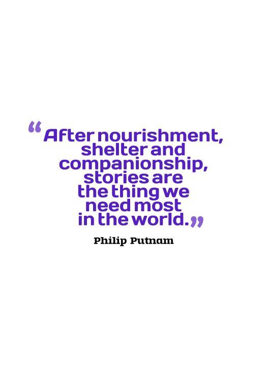 stories quote