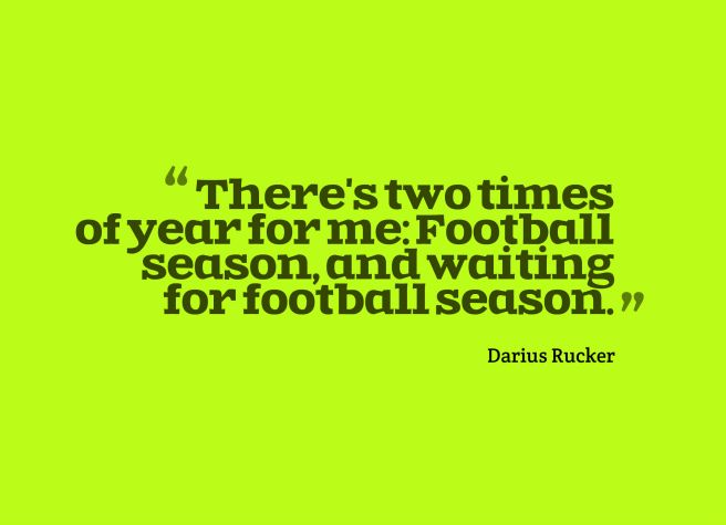 football fan quote