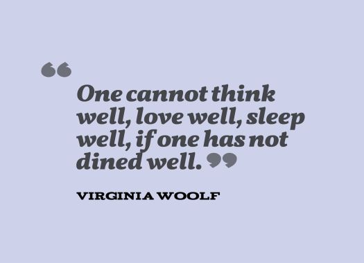 dine well