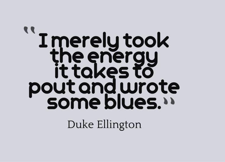blues quote