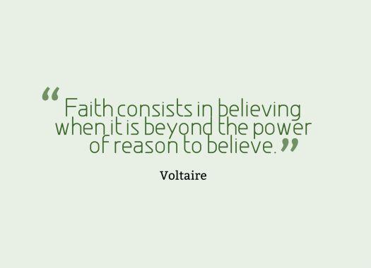 belief quote