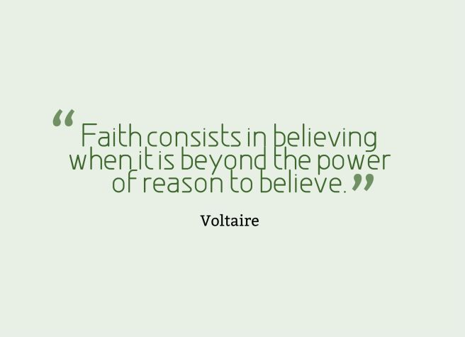 belief quote