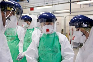 photo credit: NHS medics prepare to join the fight against Ebola in Sierra Leone via photopin (license)