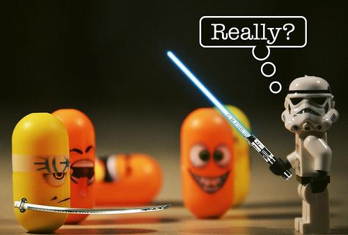 photo credit: Katana vs. Lightsaber via photopin (license)