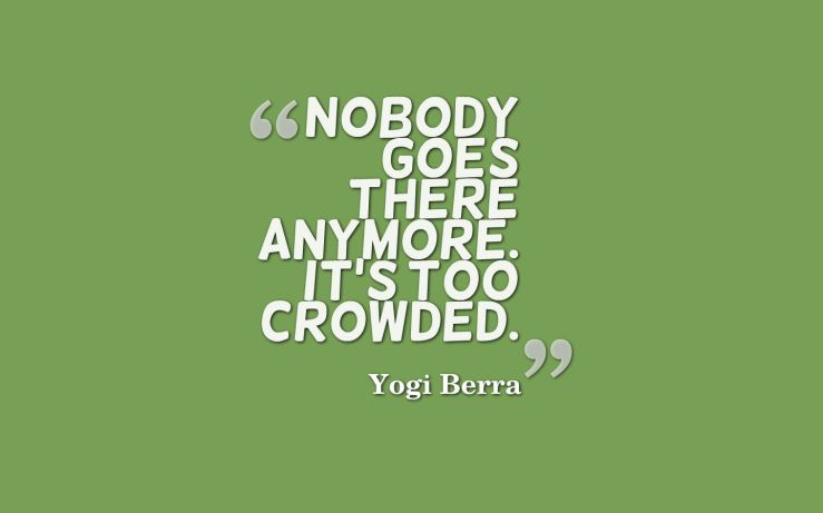crowded quote