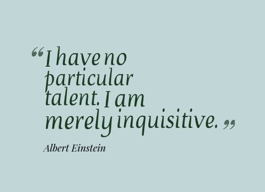 inquisitive quote