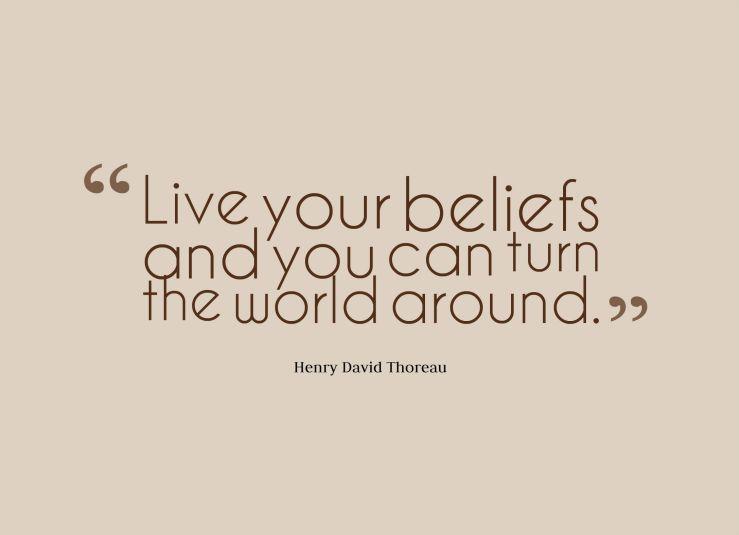 belief 2 quote