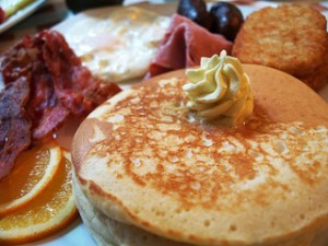 photo credit: Pancakes, Bacon, Egg via photopin (license)