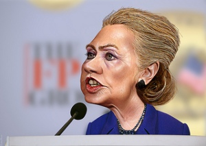 photo credit: Hillary Clinton - Caricature via photopin (license)