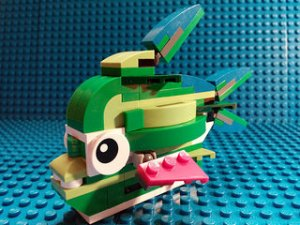 photo credit: LEGO Creator 31031 | Is this Lego-fish carnivorous? via photopin (license)
