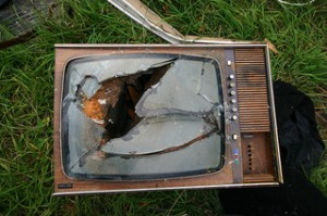 photo credit: Old broken TV via photopin (license)