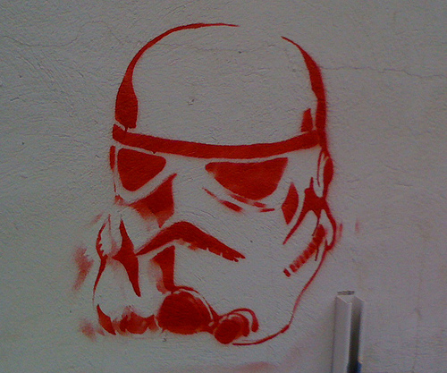 photo credit: Stormtrooper Graffiti via photopin (license)