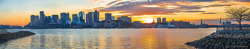 photo credit: Boston Skyline - Sunset via photopin (license)