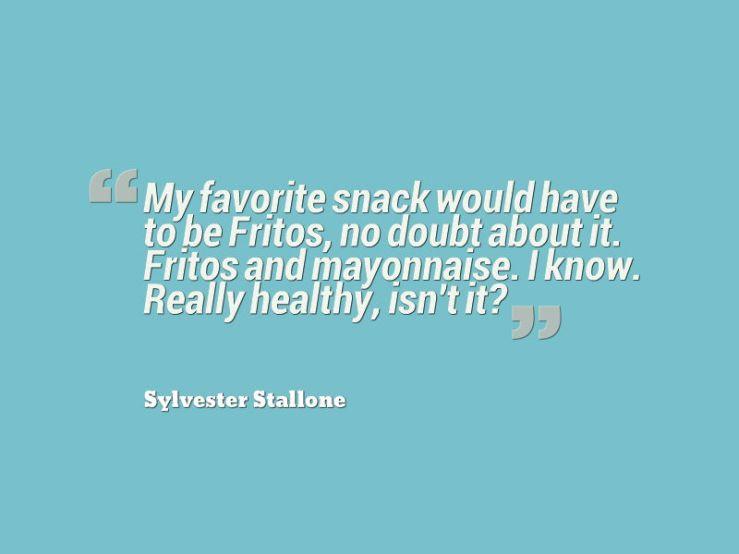 snacks quote