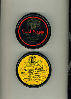 photo credit: Sullivan Powell of Burlington Arcade - tobacco tins 1970s via photopin (license)