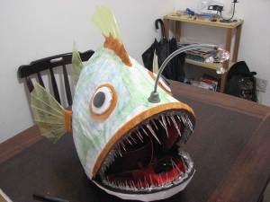photo credit: Angler Fish Mask: hello! via photopin (license)
