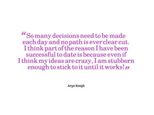 aryn quote