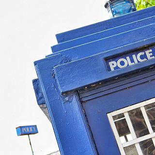 photo credit: The 'Real' Tardis at Wetherby Police Station via photopin (license)