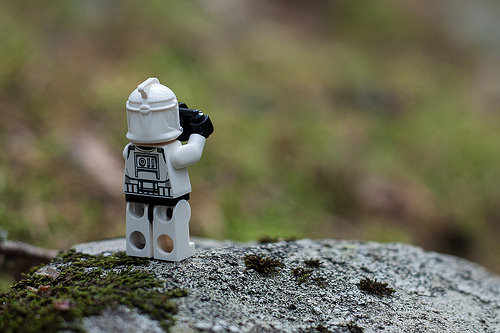 photo credit: #003 Stormtrooper with a camera - Nature photographer via photopin (license)