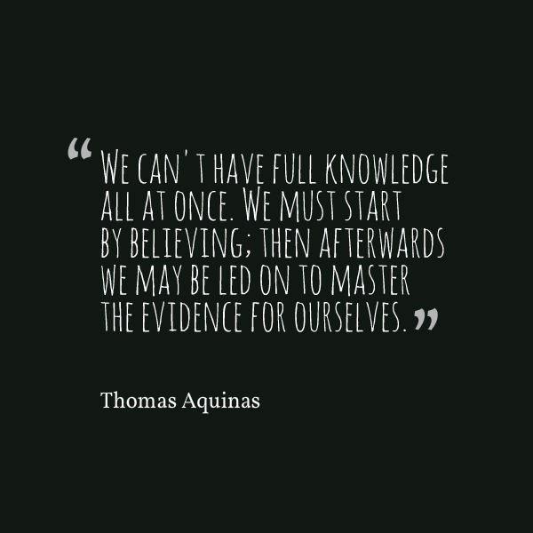 aquinas quote