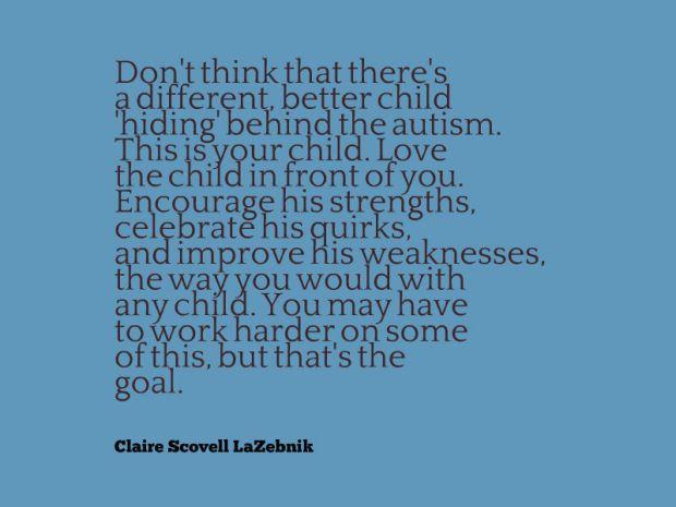 autism quote