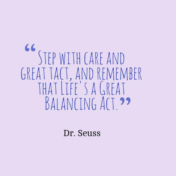 balance quote