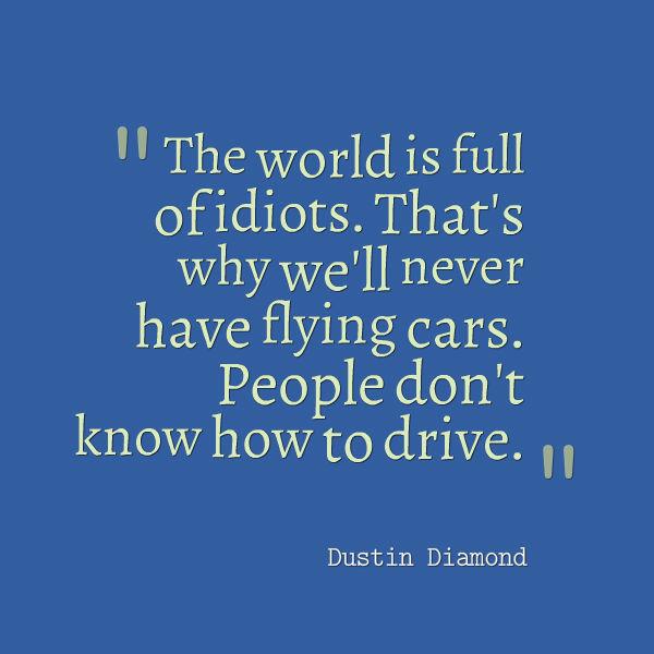 flying cars quote