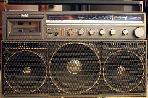 photo credit: My Ghetto Blaster via photopin (license)