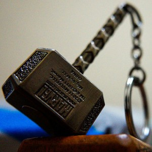 photo credit: Thor hammer keychain from taiwan via photopin (license)