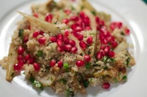 photo credit: Quinoa pomegranate fennel salad via photopin (license)