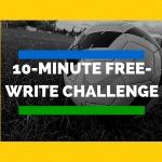 free write challenge