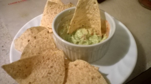 I made two batches of guacamole - one with HERDEZ salsa verde that was fantastico.