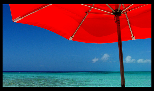 photo credit: Under The Umbrella At Serenity Bay via photopin (license)